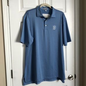 Peter Millar blue polo size large